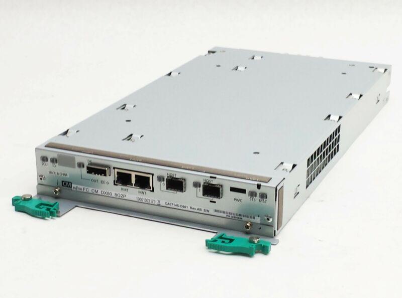 FUJITSU CA07145-C601 8G2P DX80 ISCSI FC HARD DRIVE ARRAY RAID CONTROLLER MODULE