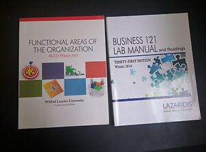 BU 121 Textbook + Lab Manual