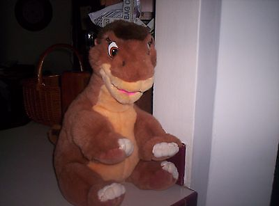 vintage gund land before time plush little foot 17 inch