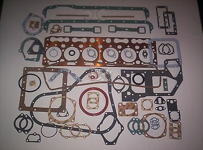 Fordson Major E27N Perkins P6.288 Diesel 6 Cyl. Complete Engine Gasket Set - NEW for sale  Shipping to United States