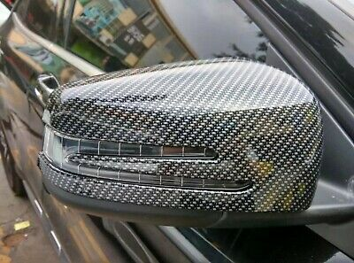 Mercedes-Benz GLS Carbon-Optik Spiegelkappen Blende Tuning