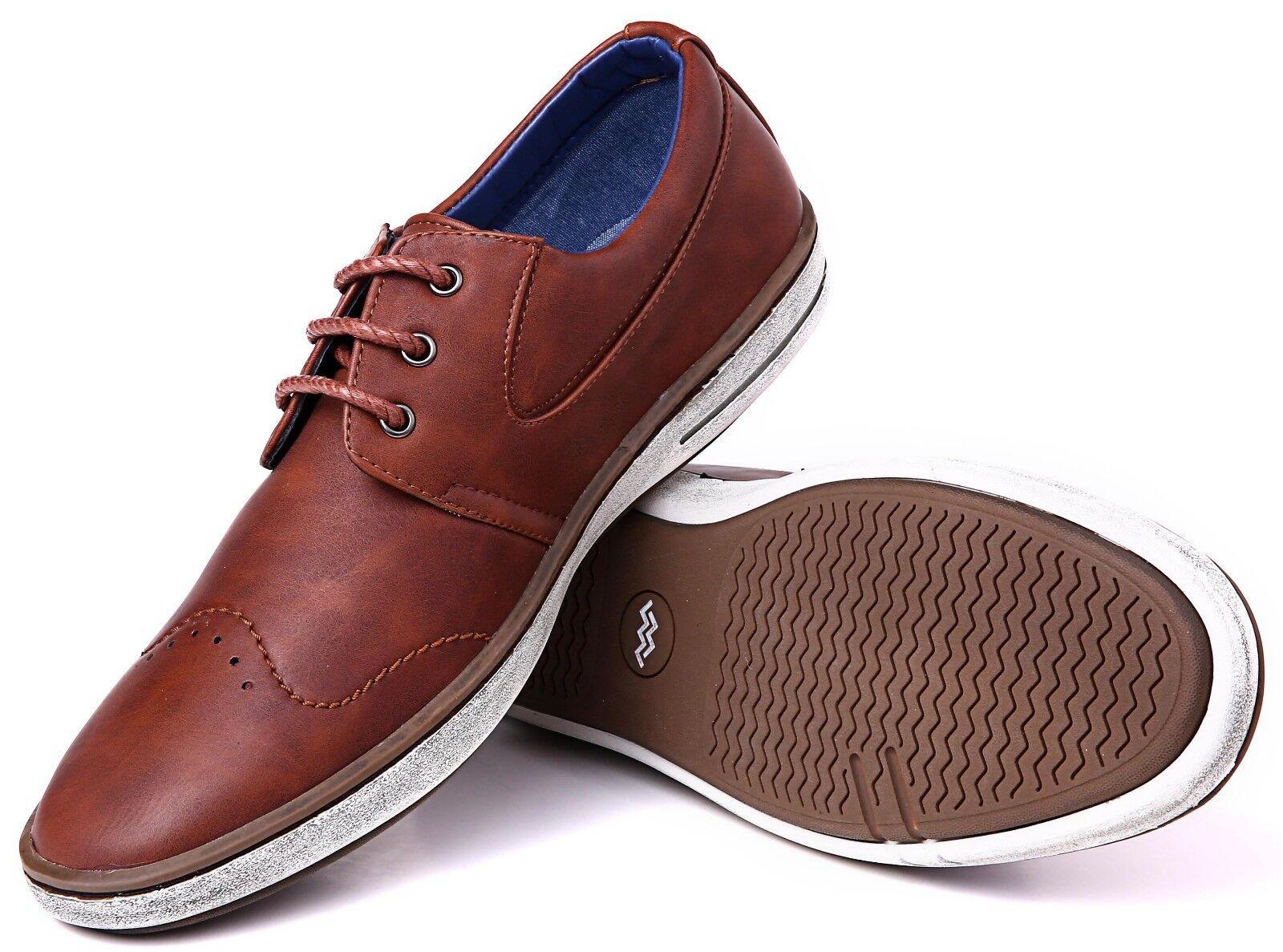 Mio Marino, Mens Dress Shoes - Fashion Casual Oxford Shoes f
