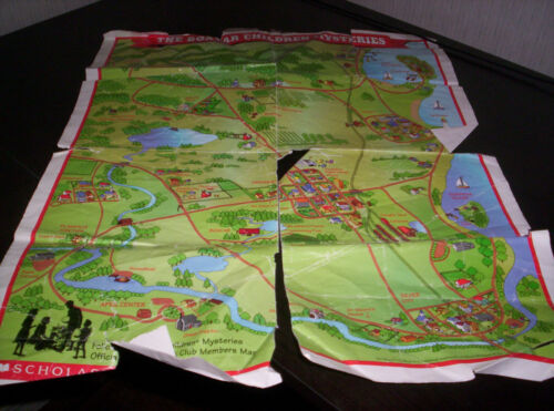 The Boxcar Children Mystery Book Club Members Map Scholastic