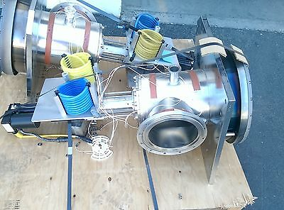 Sputter Vacuum Chamber Assembly 14 300mm With Industrial Devices Cvc001 Drive