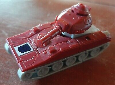 Vintage 1984 Transformers G1 Warpath Autobot Mini Tank