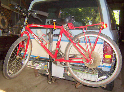 3d74c7eb1a5 Vintage Red Trek 800 Antelope Mountain Bike Bicycle -Graber auto carrier