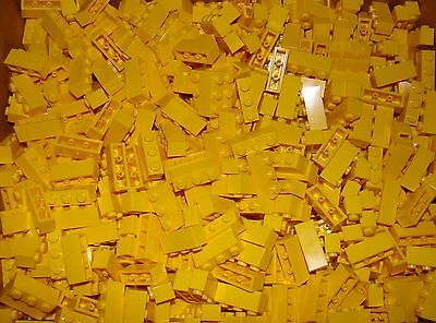 LEGO LOT OF 20 NEW 1 X 3 YELLOW BRICKS