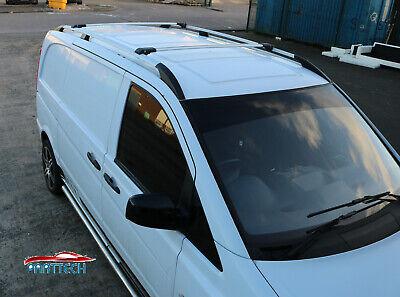 Mercedes Vito CORTO 2003+ Barras de techo y barras transversales de aluminio segunda mano  Embacar hacia Spain