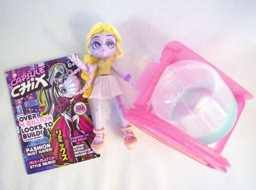"""Moose Toys 5"""" PASTELS & IRIDESCENT Action Figure Doll Capsule Chix Robot Girl"""