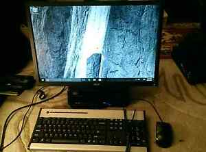 Acer L3600 Slim Desktop PC & 22 Inch HD LCD Monitor/120GB SSD Angle Park Port Adelaide Area Preview