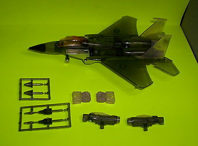 Prototype G1 Transformers Skywarp Clear Black & Purple Plastic