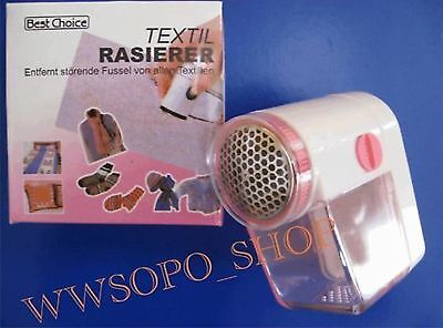 Fussel-EX  Textil Rasierer FUSSELRASIERER  NEU + OVP