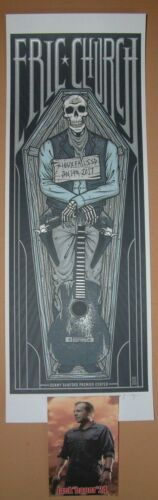 Eric Church Jim Mazza Sioux Falls Concert Poster Night 2 Print Signed Numbered - $149.99