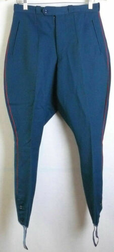 Breeches Gallifett Vintage Russian  Officer Parade Soviet Army Uniform Trousers
