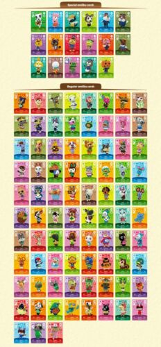 New Animal Crossing amiibo Cards Series 2 - Pick Your Character