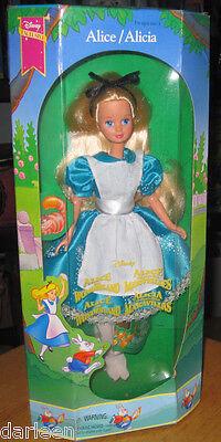"Disney Exclusive ALICE In Wonderland 10"" doll Mattel 1994 Classic"