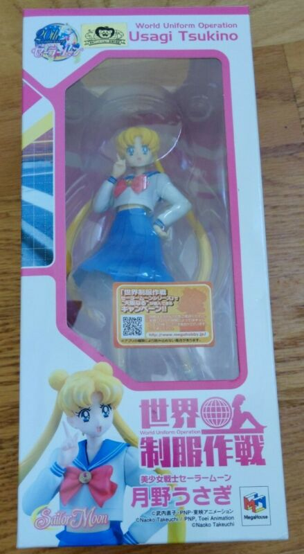 World Uniform Operation Sailor Moon Usagi Tsukino 1/10 PVC Figure Megahouse