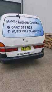 Mobile Auto Airconditioning regas Elermore Vale Newcastle Area Preview