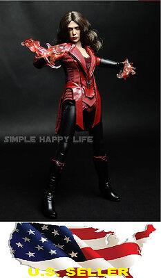 1/6 Scarlet Witch clothing set 2.0 Elizabeth Olsen Kumik hot toys - back order - Witch Clothing