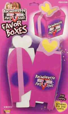 Bachelorette Party Stuff Outta Control Favor Gift Boxes Goody Box (Pack Of 6)