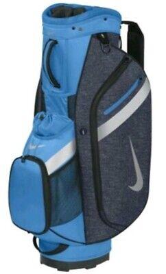 Nike 57885 Sport Cart IV Golf Bag - Navy & Blue