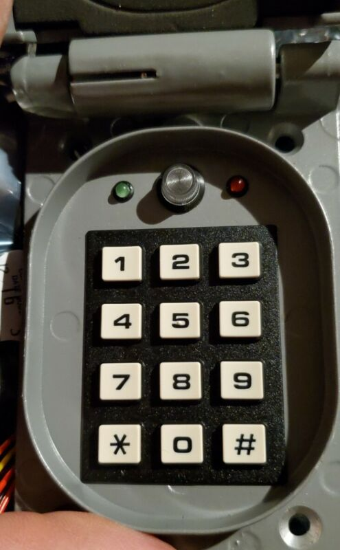CORBY Access Control Systems 4012 Outdoor Keypad - System 1, 2, 4, 5 & 10