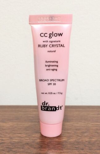 Dr. Brandt CC Glow w/Signature Ruby Crystal Natural SPF 30 .25 OZ Mini