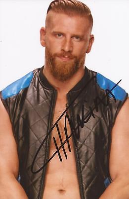 WWE WRESTLING: CURT HAWKINS SIGNED 6x4 PORTRAIT PHOTO+COA **PROOF**