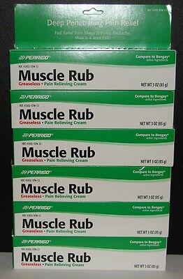 Perrigo Muscle Rub Cream (compare To Bengay) 3oz Large Tu...