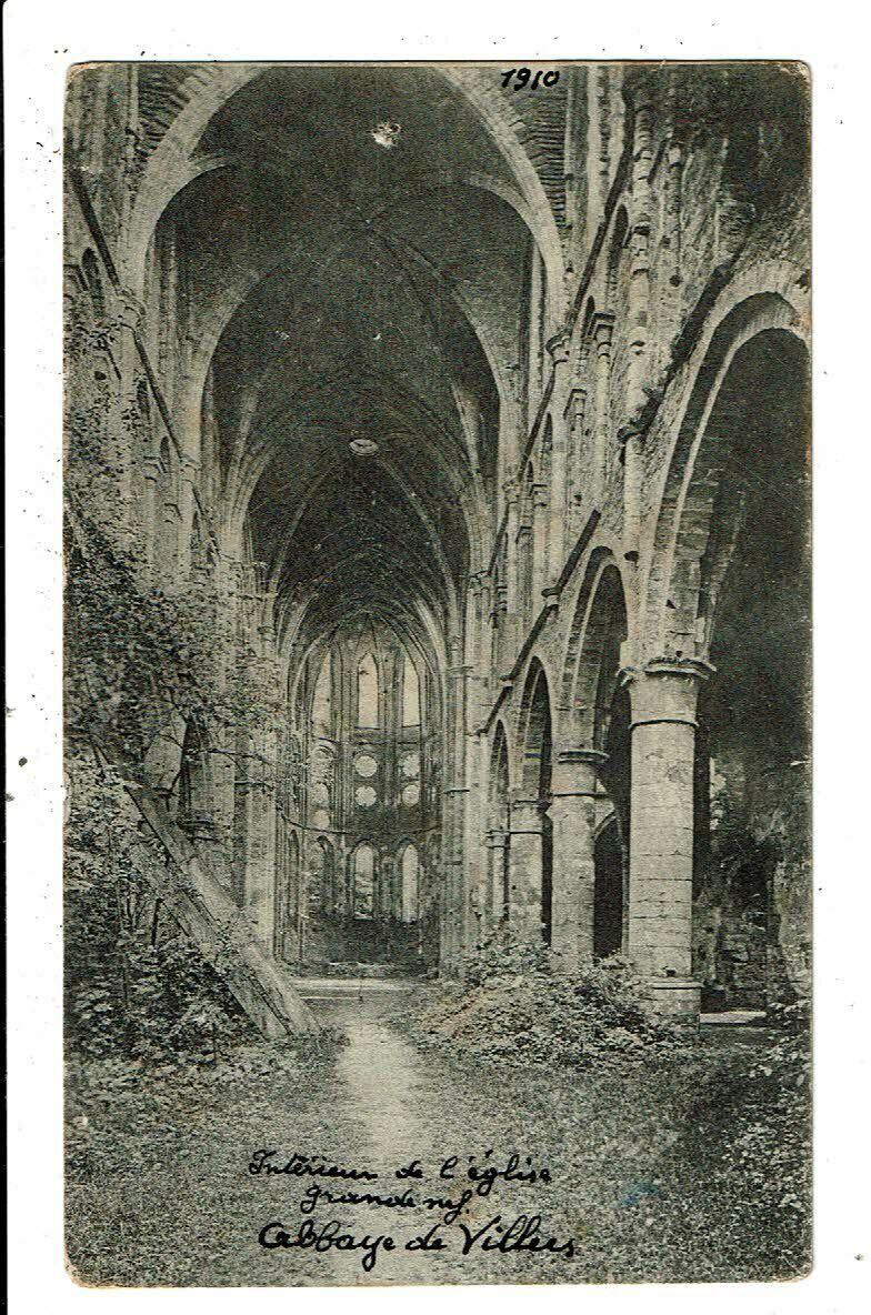 CPA-Carte Postale-Belgique- Villers la Ville L'intérieur de l'église  en 1910