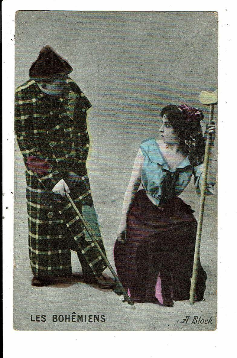 CPA-Carte Postale FRANCE -Fantaisie -Couple : Les Bohémiens  VM7285