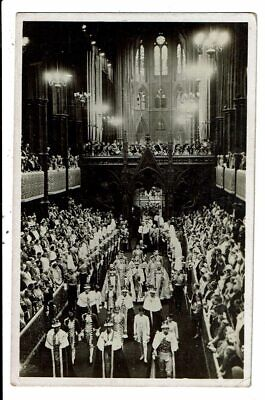 CPA-Carte Postale-Royaume-Uni- Coronation of King George VI and Queen Elisabeth-