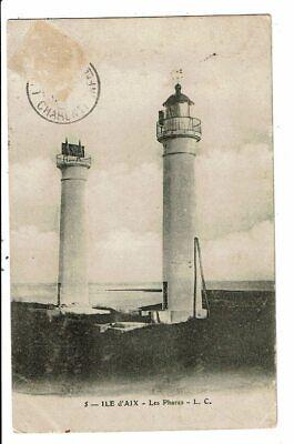 CPA-Carte Postale-France- Ile d'Aix - Son Phare -1907VM11111