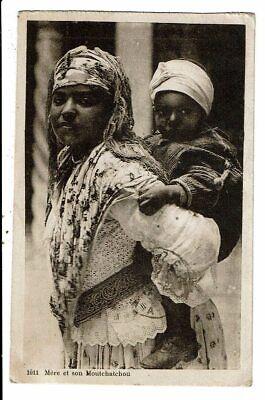 CPA Carte Postale- Mère et son Moutchatchou  VM12651