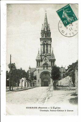 CPA-Carte Postale -France-Gorron Son église -1911 VM11673
