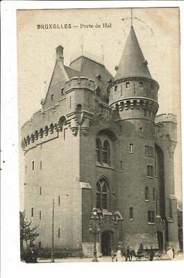 CPA- Carte postale-Belgique-Bruxelles-Porte de Hal--1912 VM18748