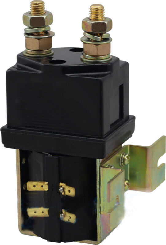 Heavy Duty DC Contactor Solenoid Replace for Albright SW200 Style 24V 400A