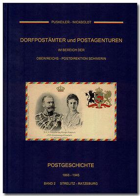 Puskeiler - Wickboldt, Postgeschichte 1868-1945 Mecklenburg Strelitz-Ratzeburg