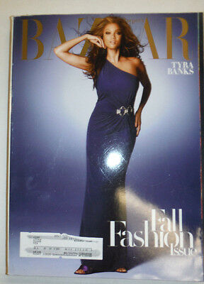 Harpers Bazaar Magazine Tyra Banks September 2008 031915R2