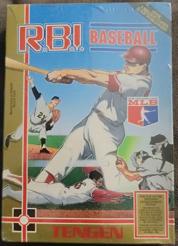 RBI Baseball Factory Sealed Tengen NES Nintendo Entertainment System