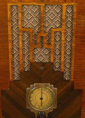 Vintage Gold Speaker Grill Cloth Art Deco – Old Antique Radio Grille Restoration