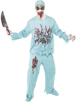 Zombie Doctor Smiffys Halloween Zombie Alien - Alien Zombie Kostüm