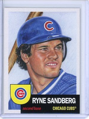 2018 Topps Living Set * RYNE SANDBERG * Card #64 * Chicago Cubs