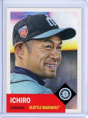 Seattle Mariners Baseball (2018 Topps Living Set * ICHIRO SUZUKI * Card #25 * Seattle)