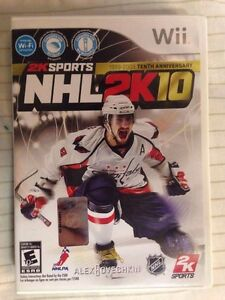NHL 2k10 for wii