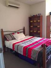 Queen Bed with Mattress Wooden Posts Metal frame great condition Wolli Creek Rockdale Area Preview