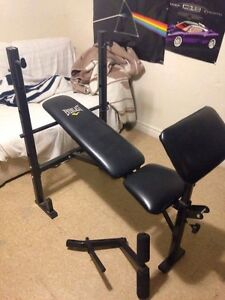 Everlast bench press for sale