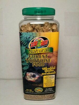 Natural Forest Tortoise Turtle Pet  Food 15 Oz by Zoo Med Natural Forest Tortoise Food