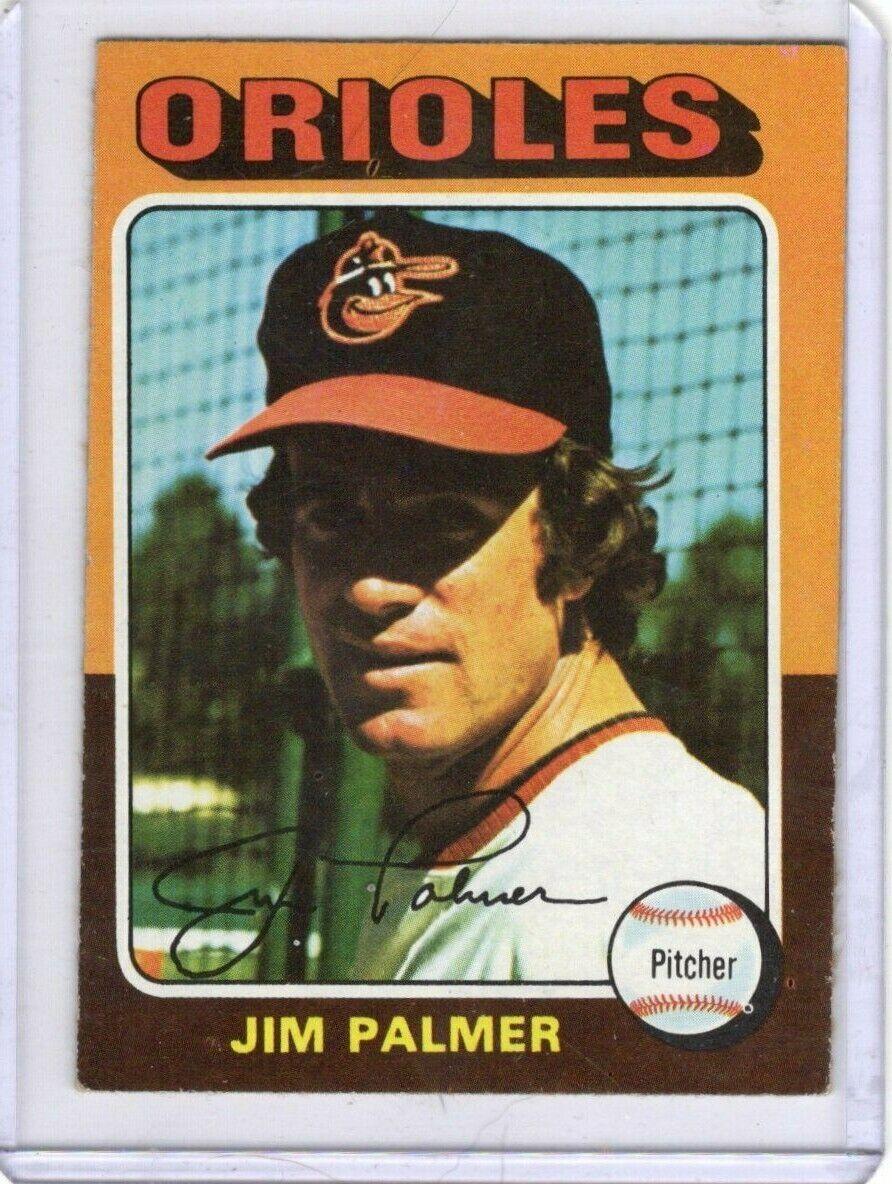 Jim Palmer 1975 Topps 335 Baltimore Orioles HOF - $0.49