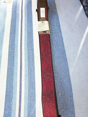 Planet Waves nylon  guitar strap red sun